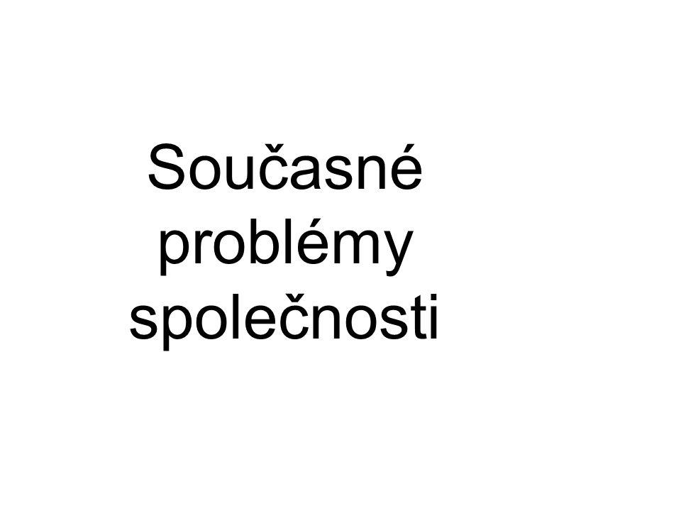 Současné problémy společnosti