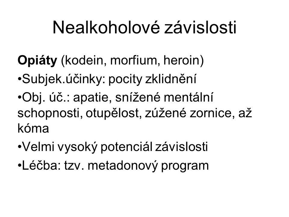 Nealkoholové závislosti