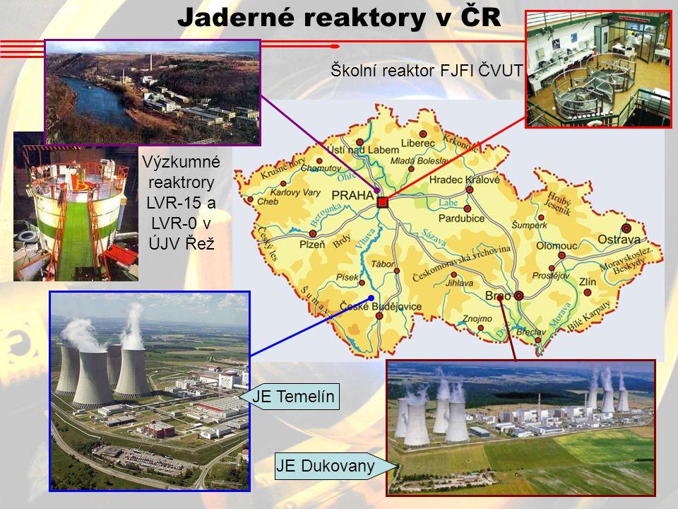 Výzkumné reaktrory LVR-15 a LVR-0 v ÚJV Řež