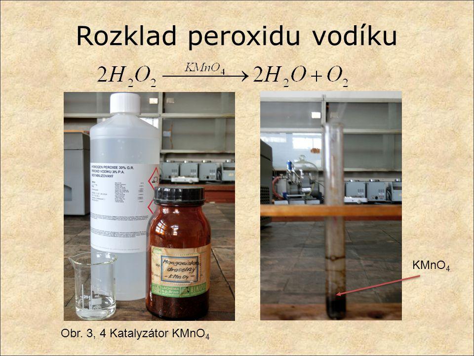 Rozklad peroxidu vodíku