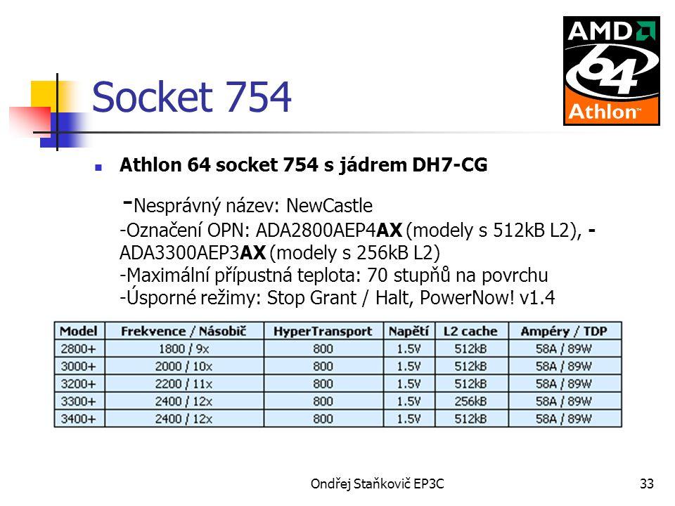 Socket 754 Athlon 64 socket 754 s jádrem DH7-CG.