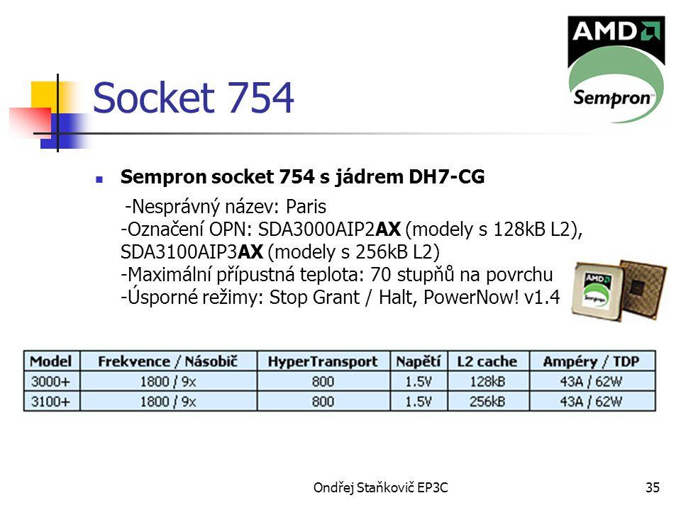 Socket 754 Sempron socket 754 s jádrem DH7-CG