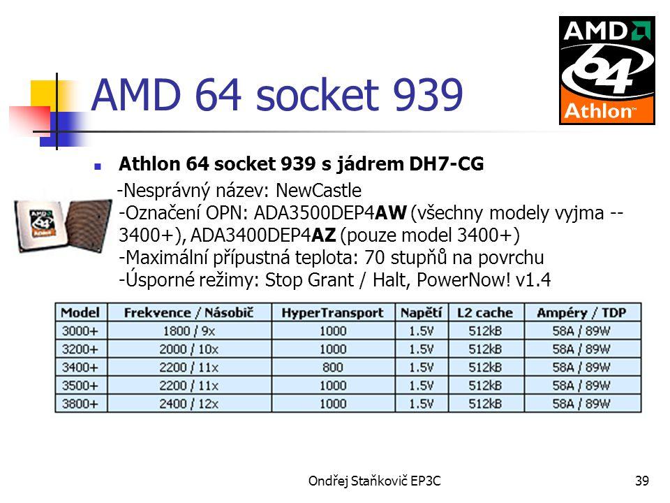 AMD 64 socket 939 Athlon 64 socket 939 s jádrem DH7-CG