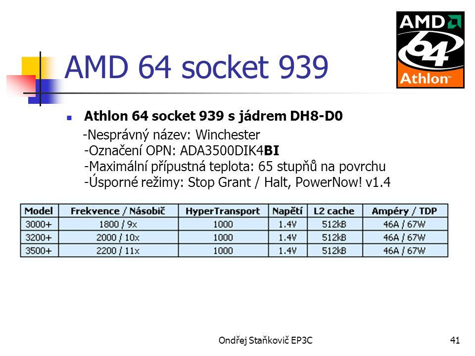 AMD 64 socket 939 Athlon 64 socket 939 s jádrem DH8-D0