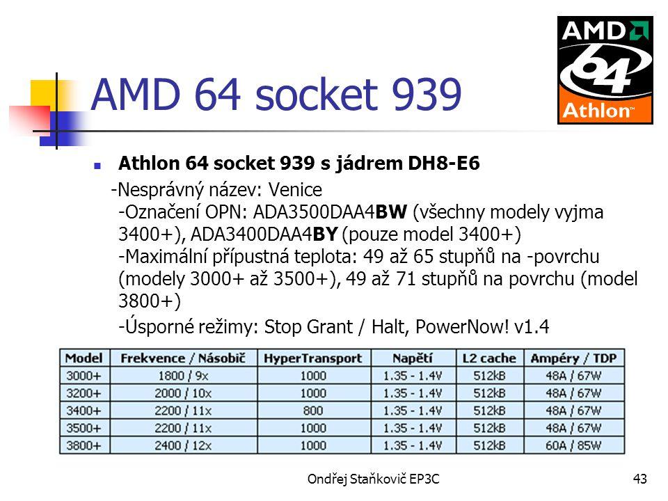 AMD 64 socket 939 Athlon 64 socket 939 s jádrem DH8-E6