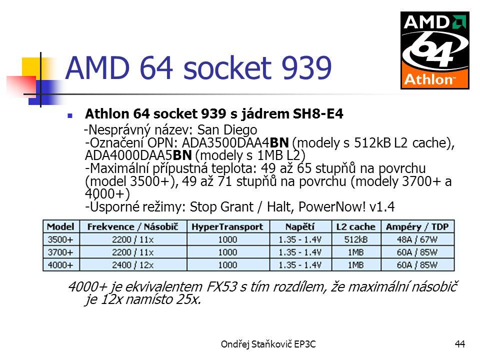 AMD 64 socket 939 Athlon 64 socket 939 s jádrem SH8-E4