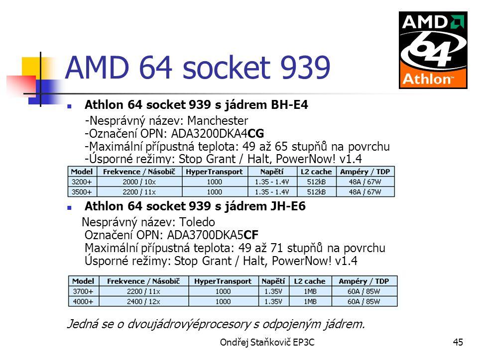 AMD 64 socket 939 Athlon 64 socket 939 s jádrem BH-E4