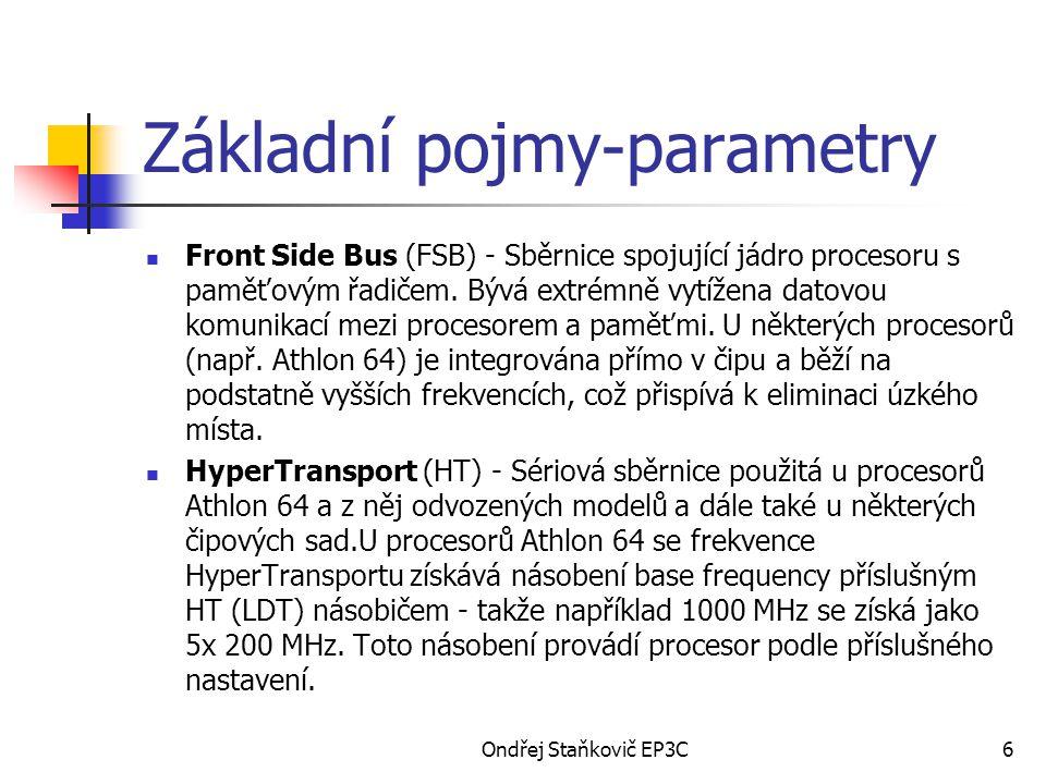 Základní pojmy-parametry