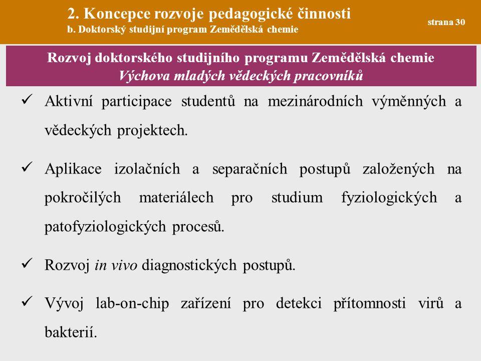 2. Koncepce rozvoje pedagogické činnosti