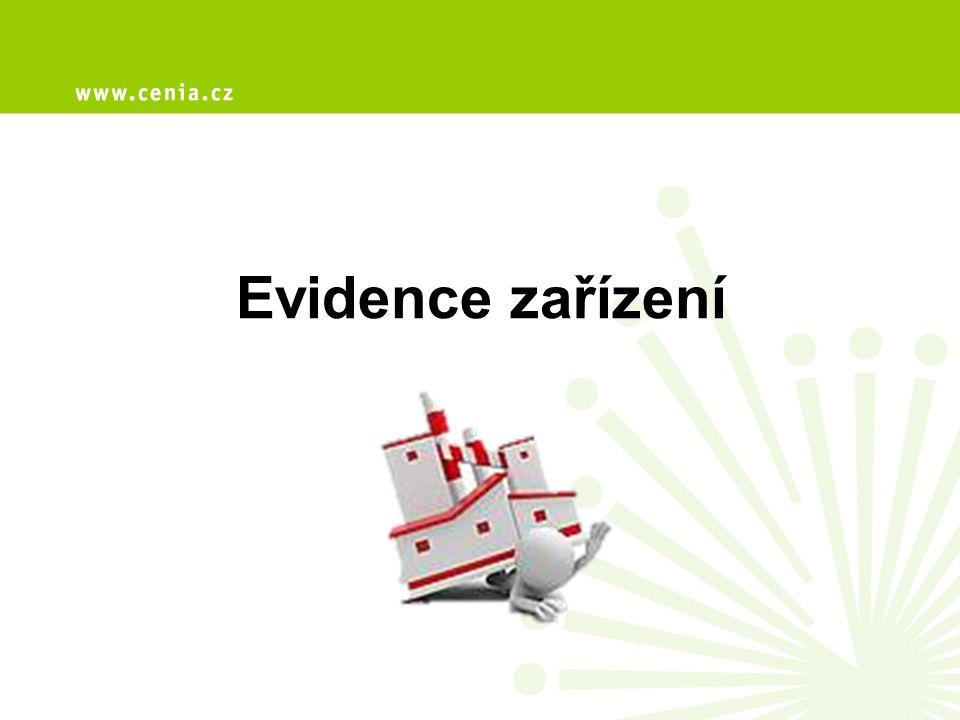 Evidence zařízení