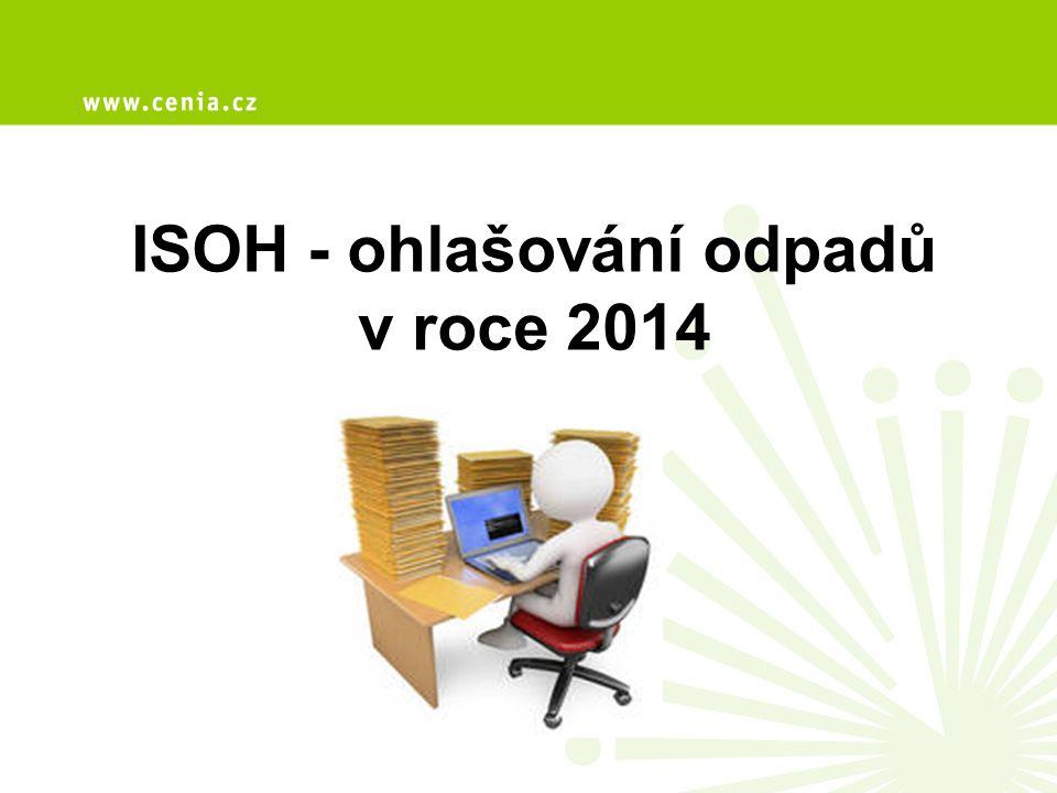 ISOH - ohlašování odpadů