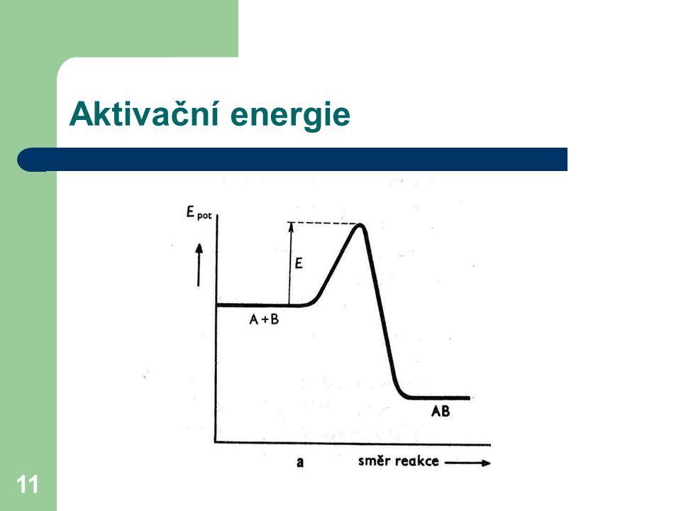 Aktivační energie