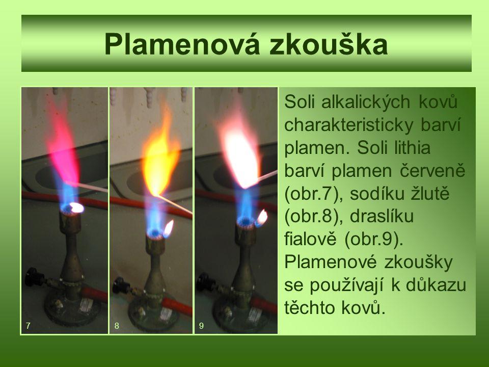 Plamenová zkouška