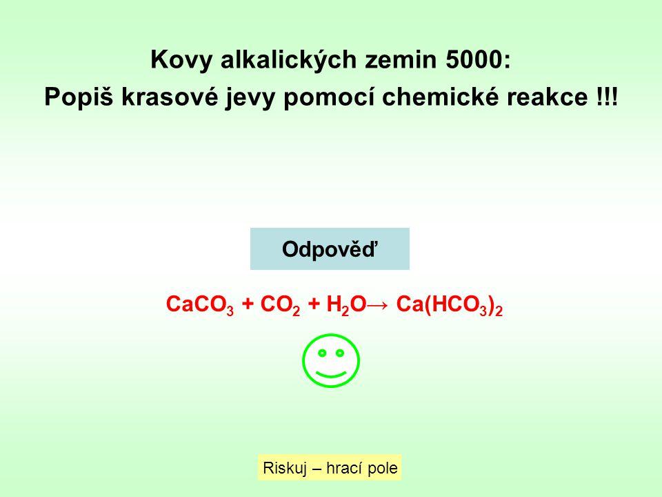 Kovy alkalických zemin 5000: