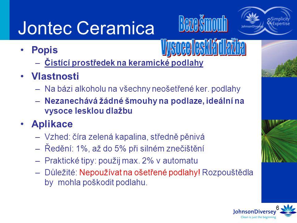 Jontec Ceramica Popis Vlastnosti Aplikace Beze šmouh