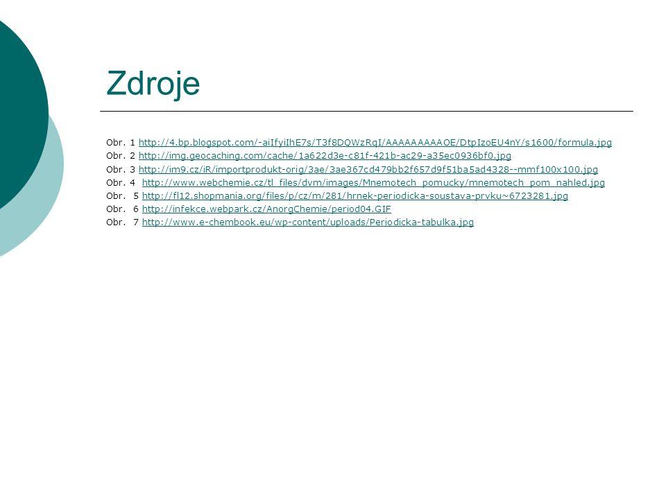 Zdroje Obr. 1 http://4.bp.blogspot.com/-aiIfyiIhE7s/T3f8DQWzRqI/AAAAAAAAAOE/DtpIzoEU4nY/s1600/formula.jpg.