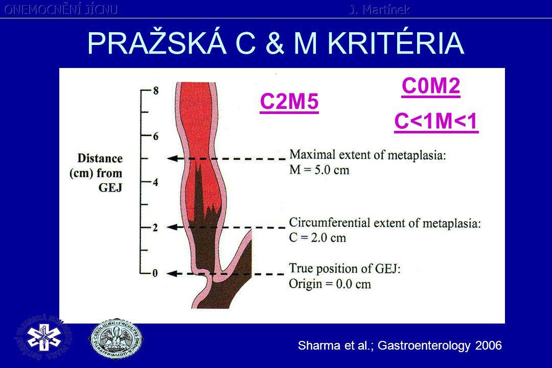 PRAŽSKÁ C & M KRITÉRIA C0M2 C2M5 C<1M<1