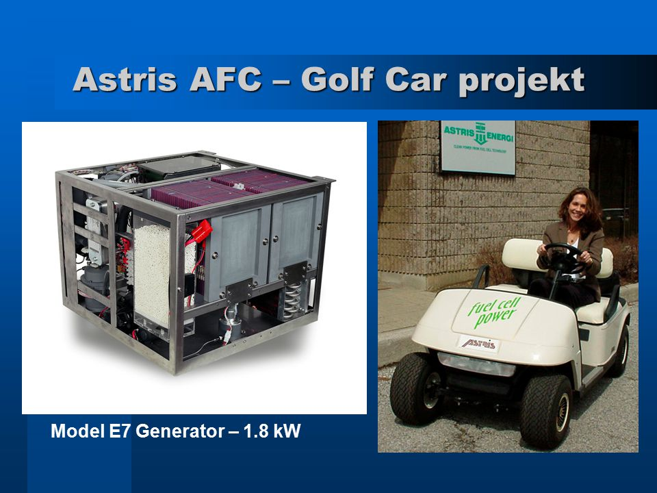 Astris AFC – Golf Car projekt