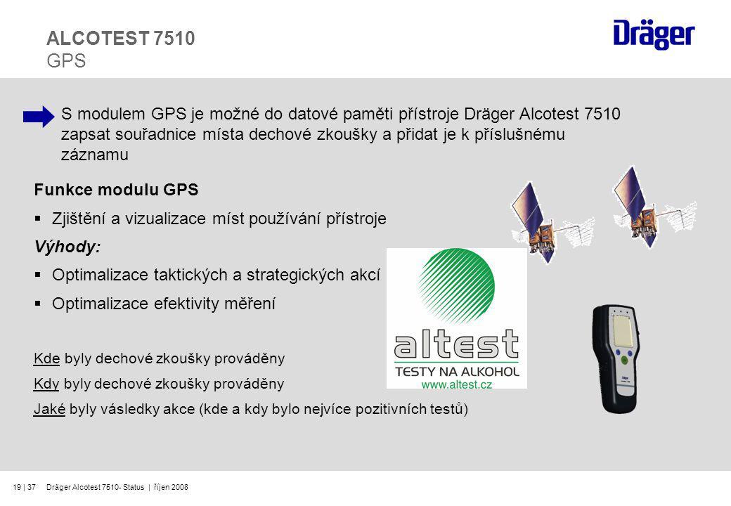 ALCOTEST 7510 GPS