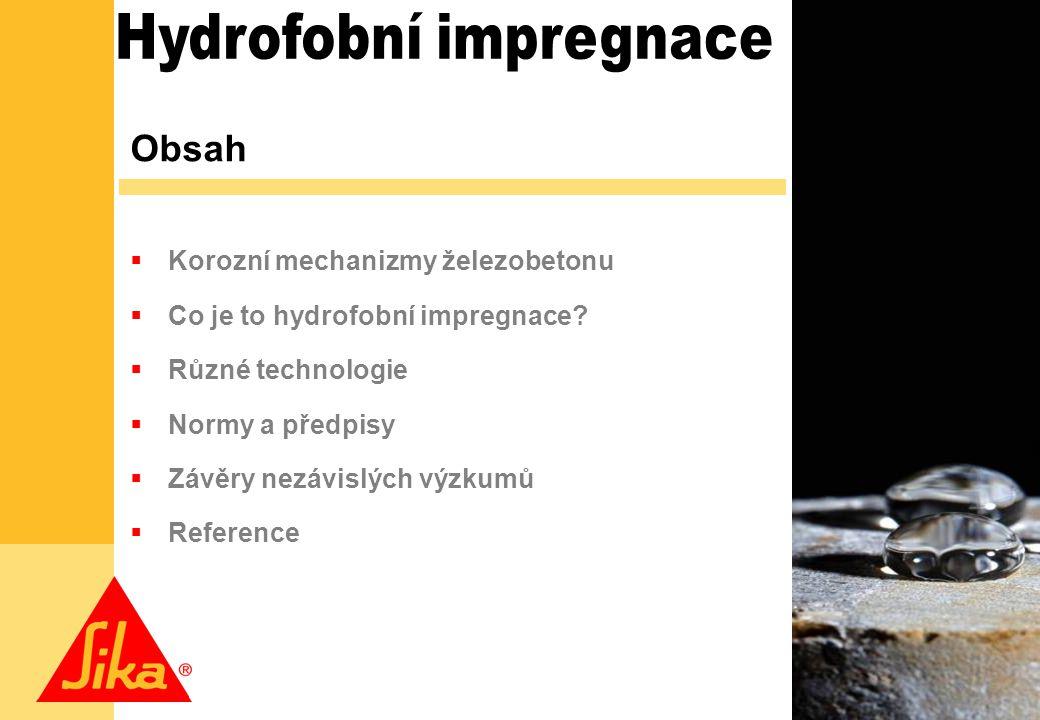 Hydrofobní impregnace