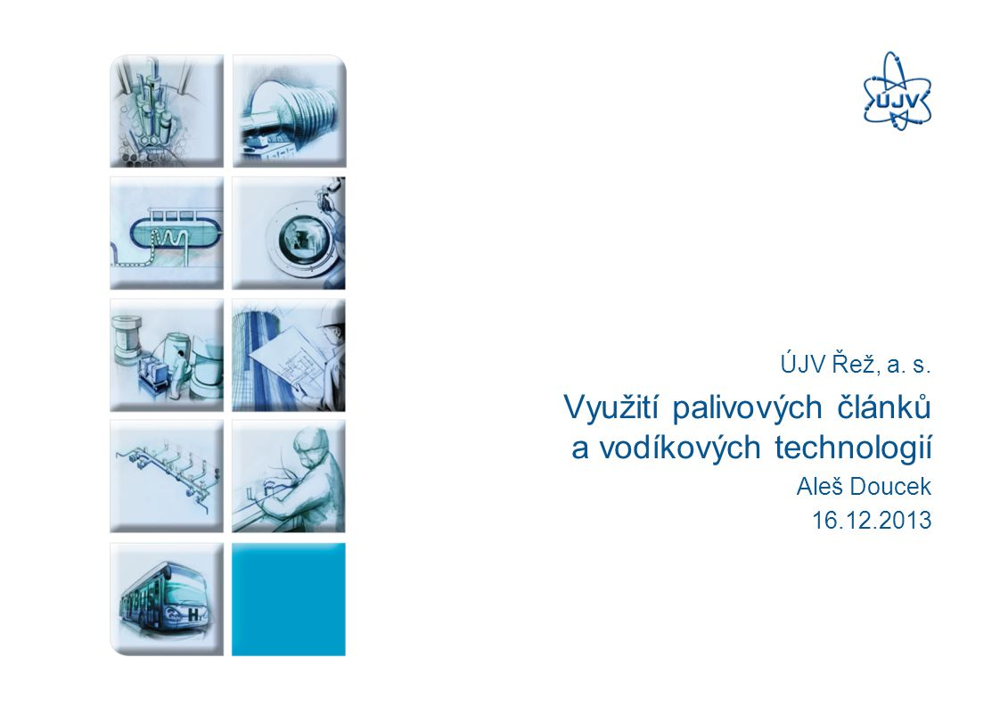 Oddělení vodíkových technologií