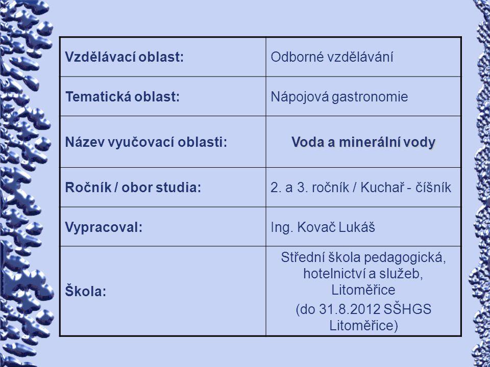 Střední škola pedagogická, hotelnictví a služeb, Litoměřice
