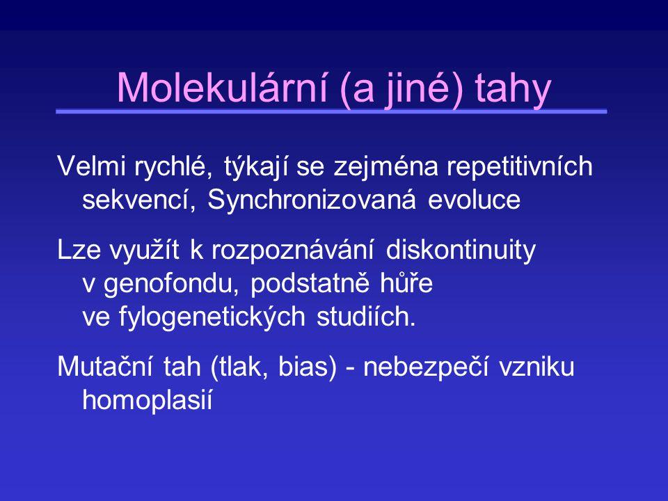 Molekulární (a jiné) tahy