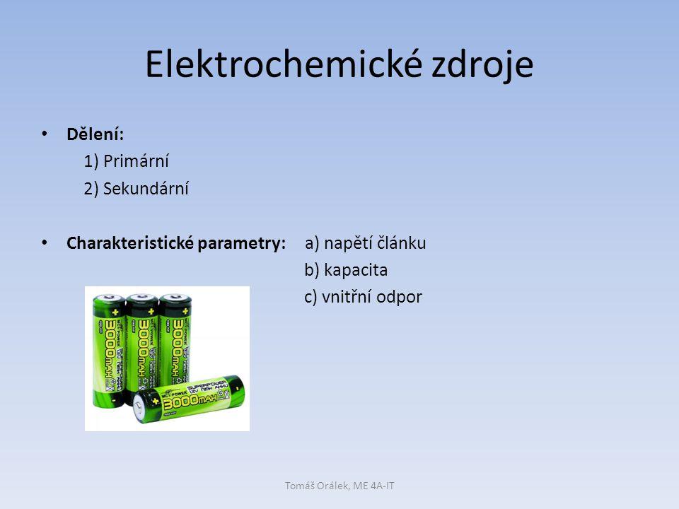 Elektrochemické zdroje