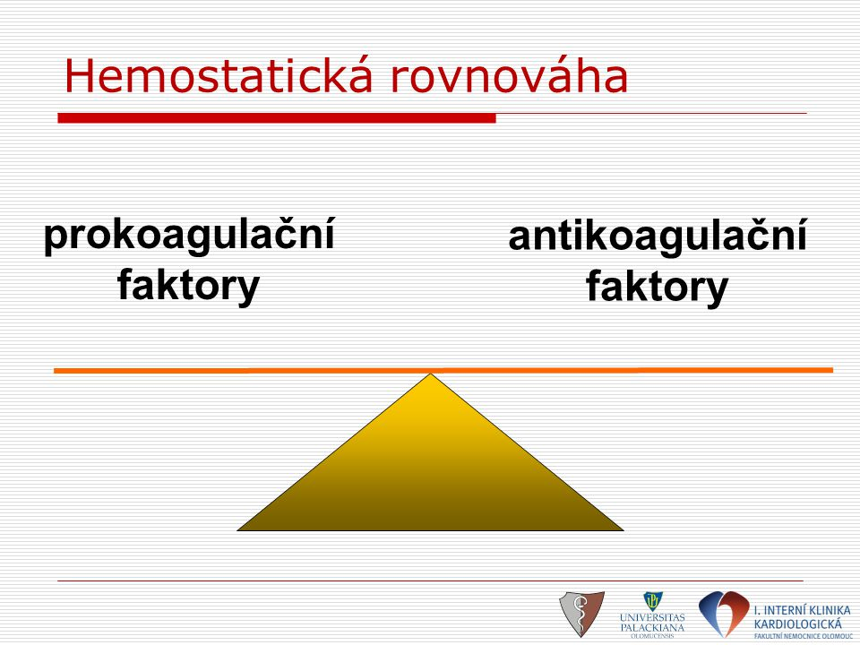 Hemostatická rovnováha