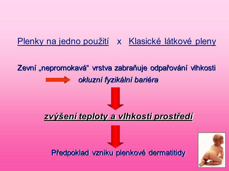 Plenky na jedno použití x Klasické látkové pleny