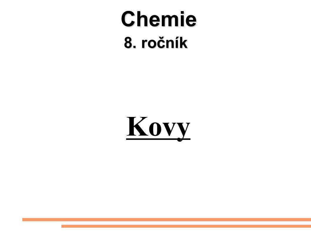 Chemie 8. ročník Kovy