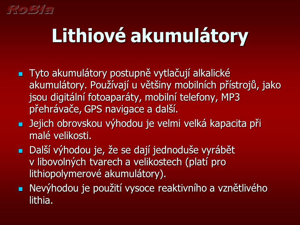 Lithiové akumulátory