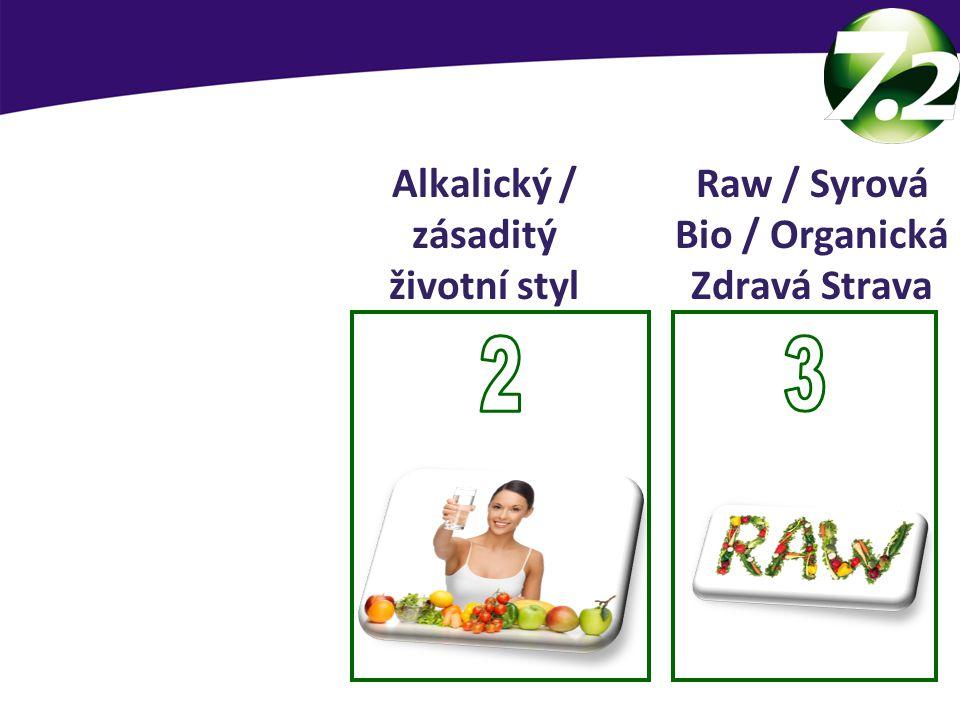 SevenPoint2 základy 2 3 Alkalický / zásaditý životní styl Raw / Syrová