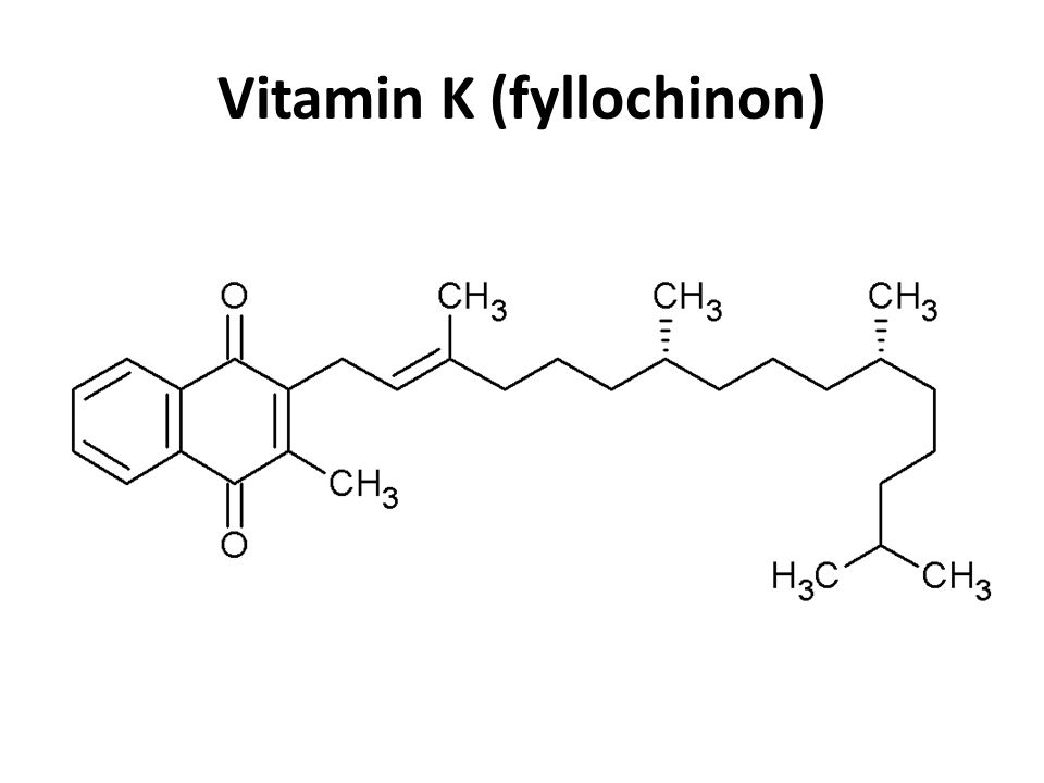 Vitamin K (fyllochinon)