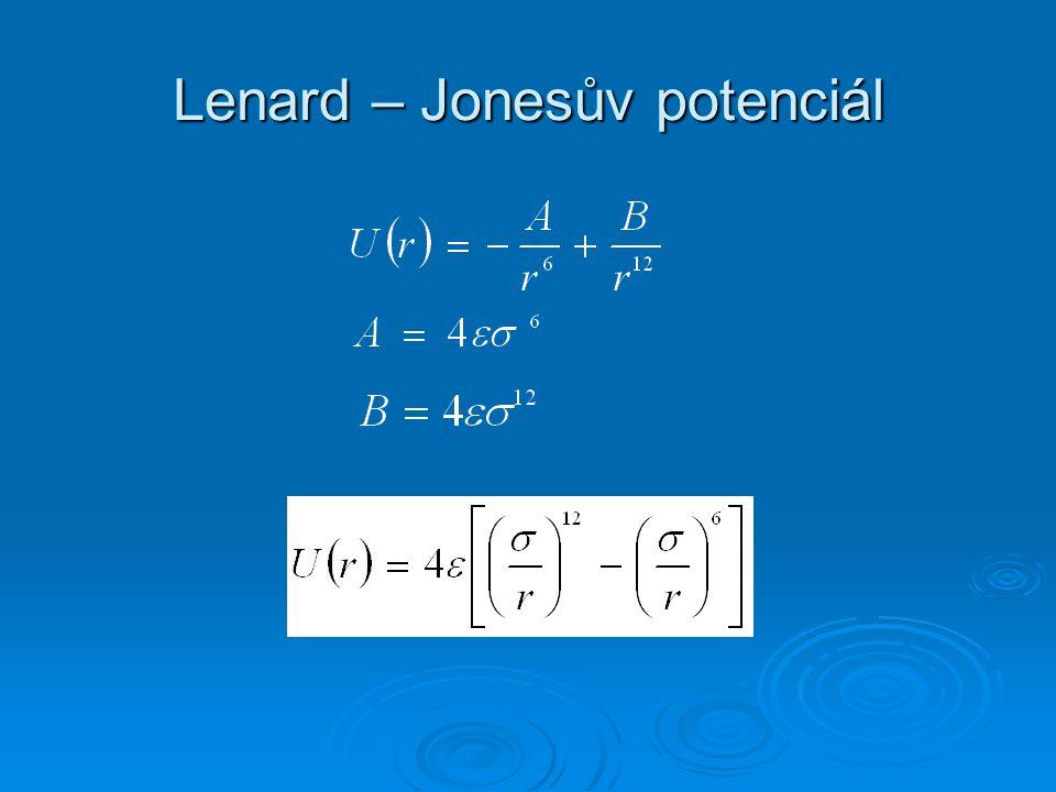 Lenard – Jonesův potenciál