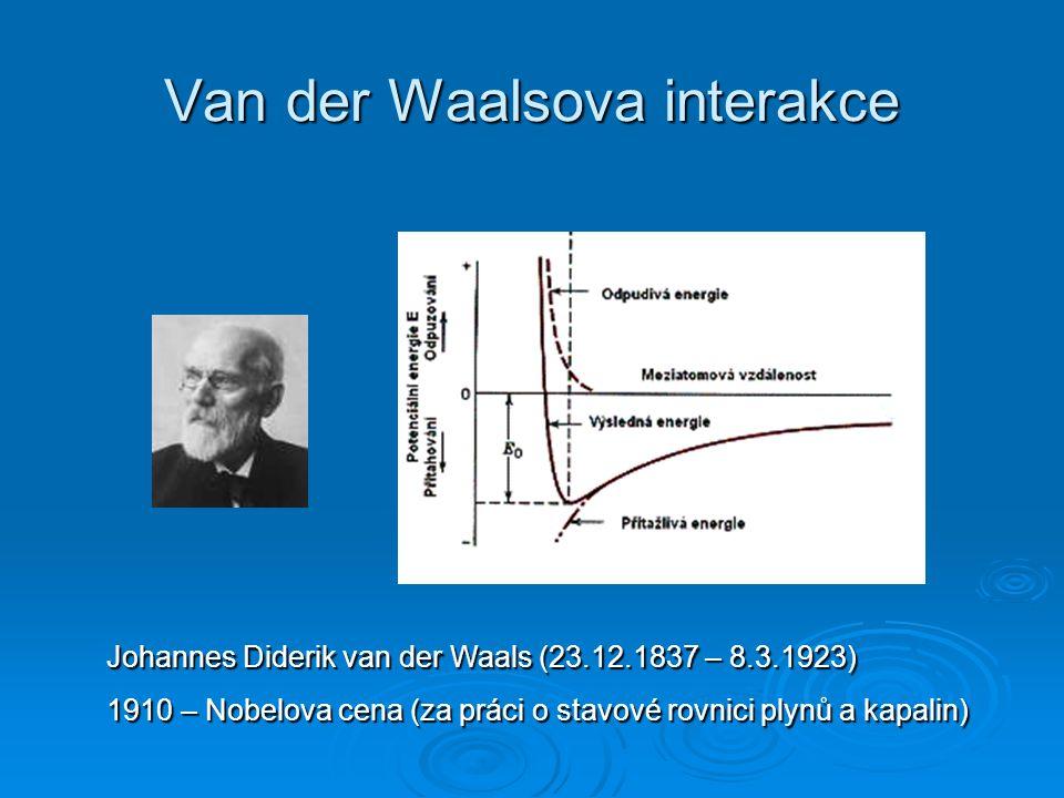 Van der Waalsova interakce