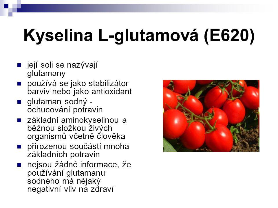 Kyselina L-glutamová (E620)