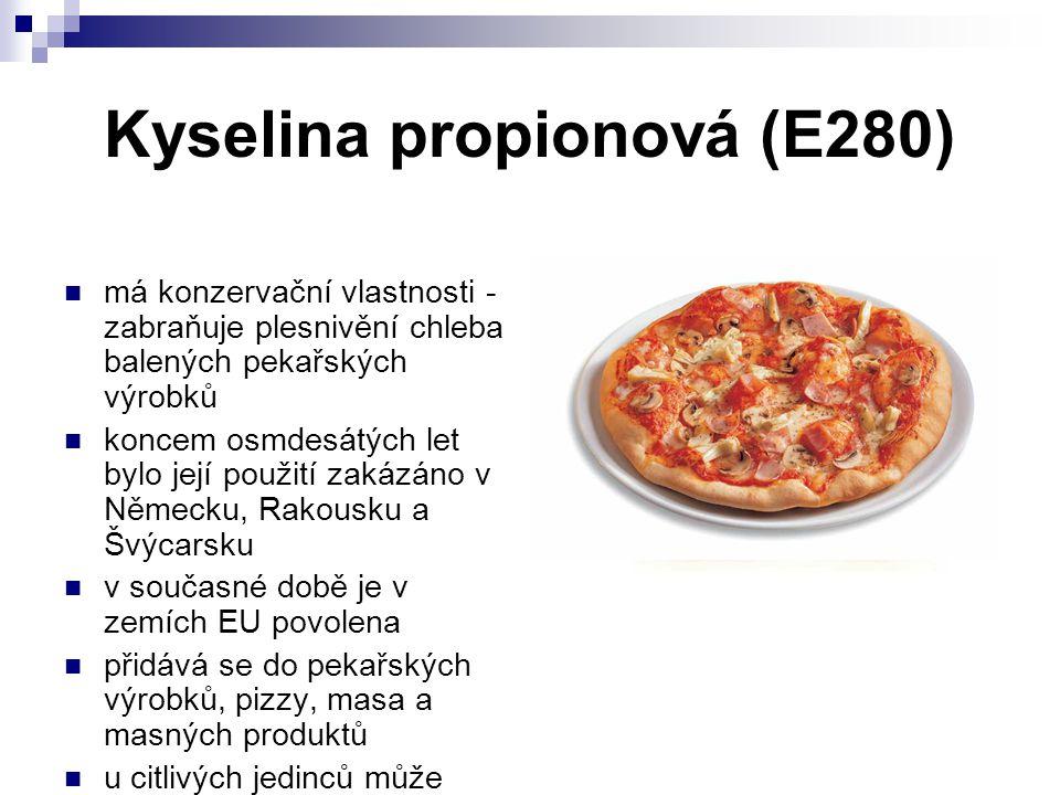 Kyselina propionová (E280)