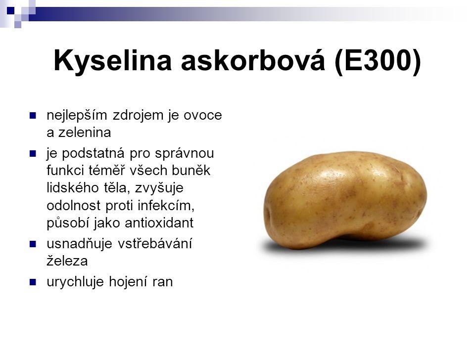 Kyselina askorbová (E300)