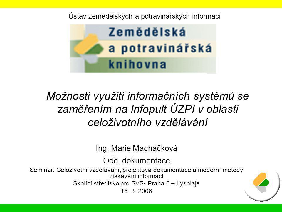 Školící středisko pro SVS- Praha 6 – Lysolaje