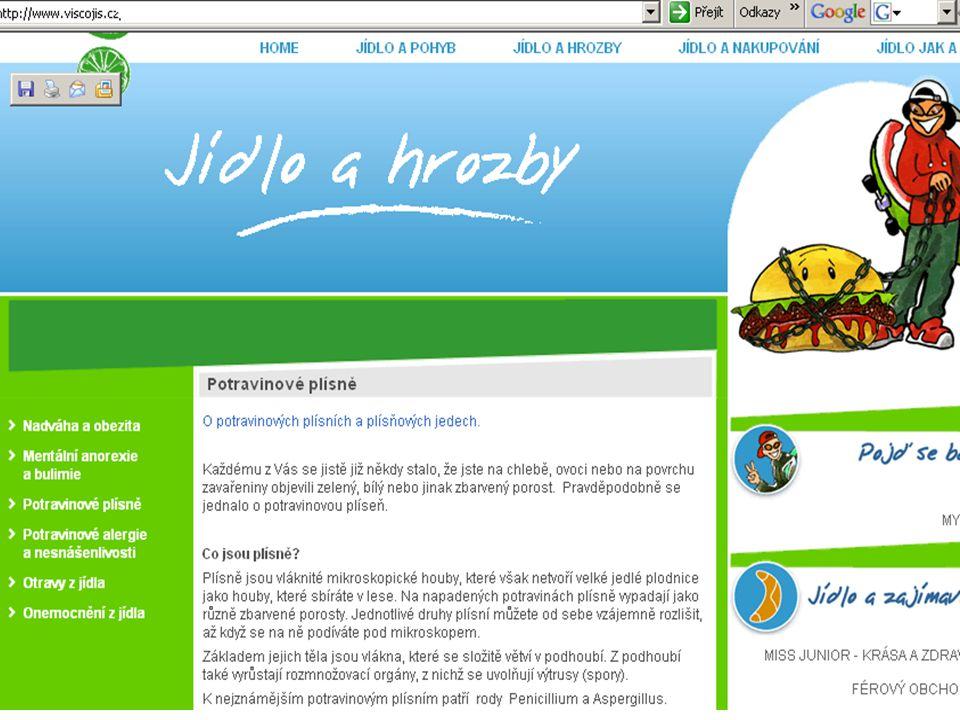 Nově spuštěný projekt od začátku roku 2008, ve spolupráci ÚZEI a MZ - OOVZ