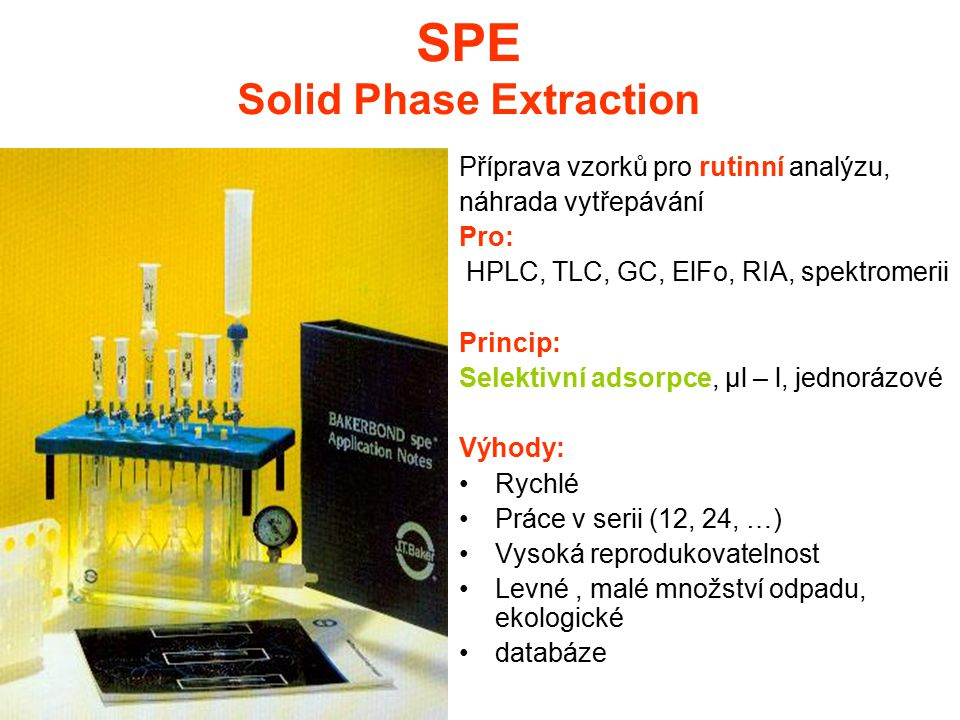 SPE Solid Phase Extraction