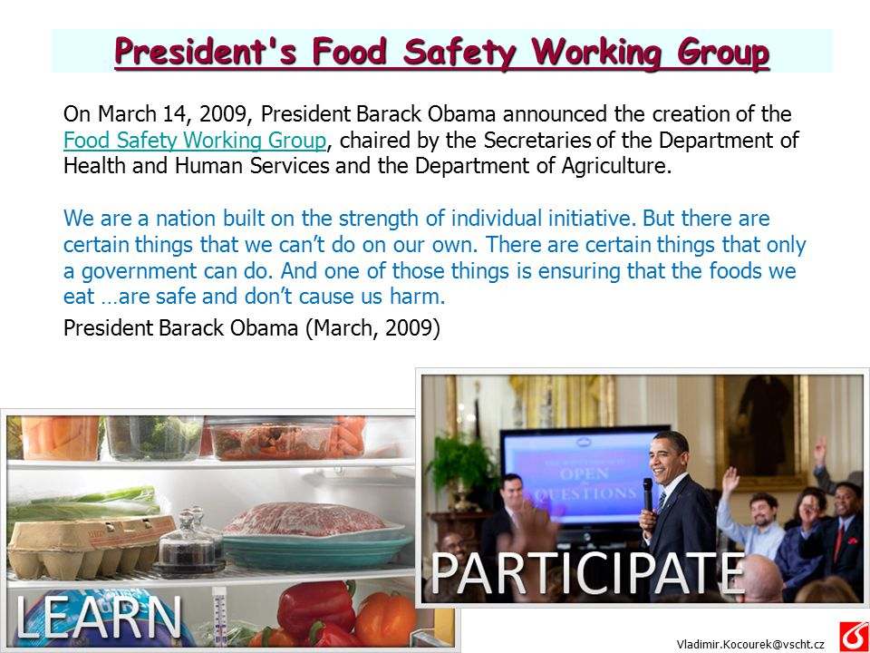 President s Food Safety Working Group