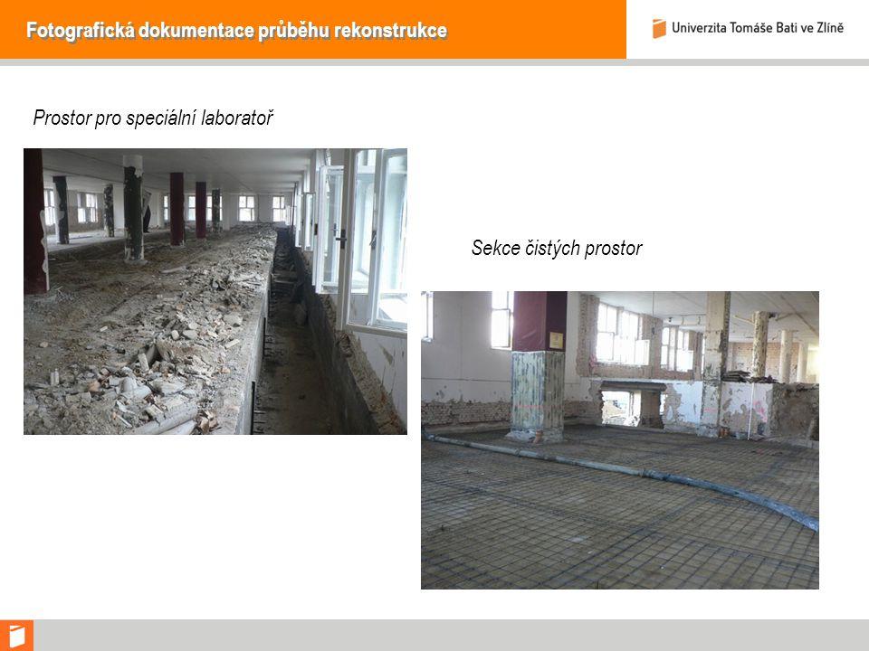 Fotografická dokumentace průběhu rekonstrukce