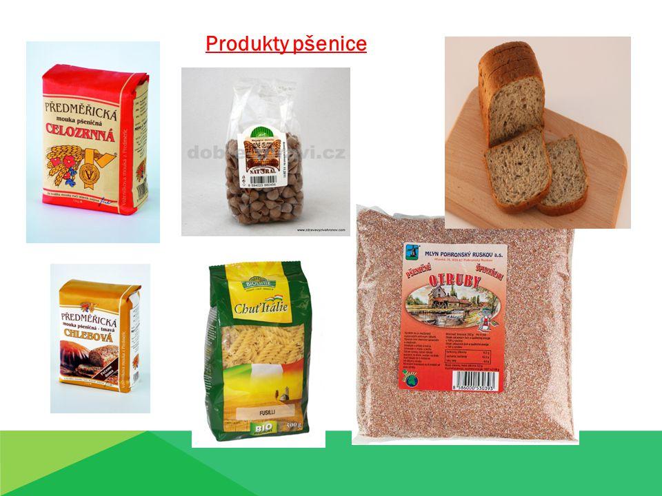 Produkty pšenice Produkty pšenice
