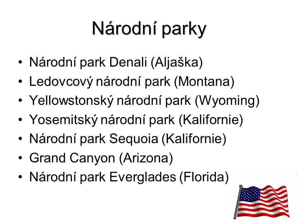 Národní parky Národní park Denali (Aljaška)