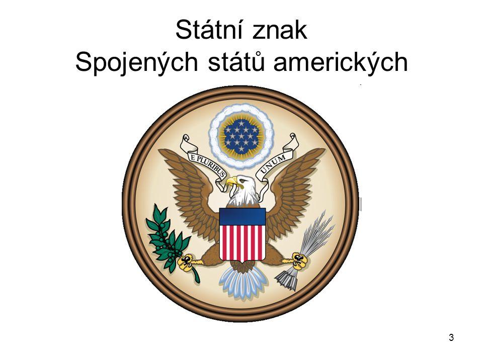 Státní znak Spojených států amerických