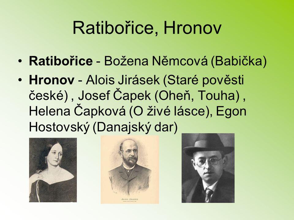 Ratibořice, Hronov Ratibořice - Božena Němcová (Babička)