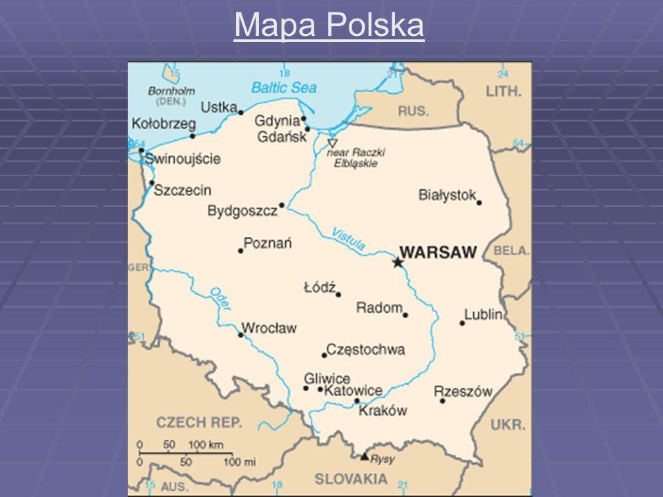 Mapa Polska