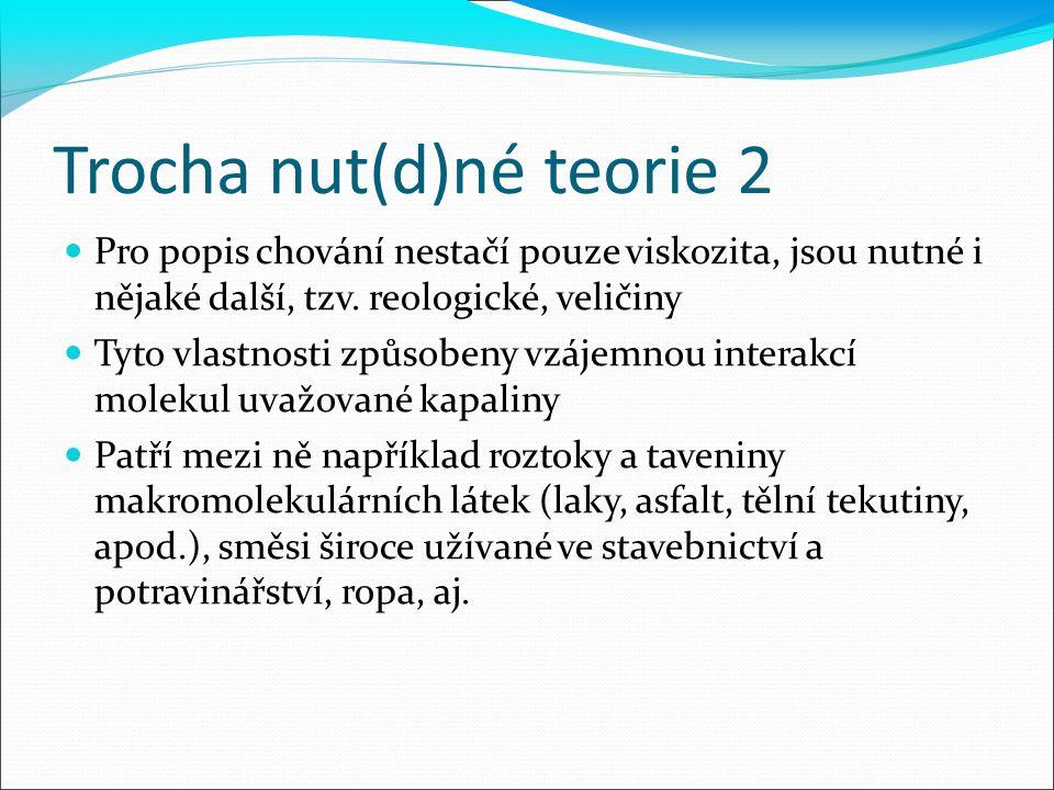 Trocha nut(d)né teorie 2